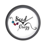 Bead Crazy II Wall Clock
