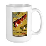 Women Power Now Poster Art Large Mug