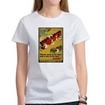 Women Power Now Poster Art Women's T-Shirt