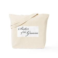 Sister of the Groom (FF) Tote Bag