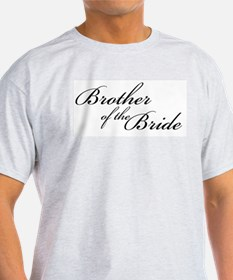 Brother of the Bride (FF) Ash Grey T-Shirt