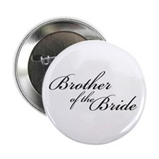 "Brother of the Bride (FF) 2.25"" Button (10 pack)"