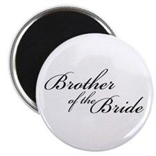 "Brother of the Bride (FF) 2.25"" Magnet (10 pack)"