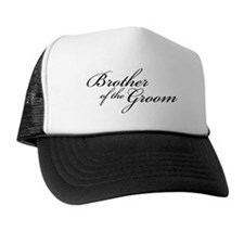 Brother of the Groom (FF) Trucker Hat