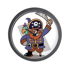 Cute Piracy Wall Clock