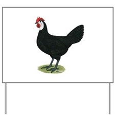 Spanish Hen Yard Sign