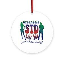 Greendale STD Fair Ornament (Round)