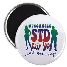 "Greendale STD Fair 2.25"" Magnet (100 pack)"