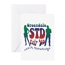Greendale STD Fair Greeting Cards (Pk of 10)