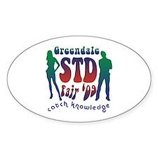 Greendale STD Fair Decal