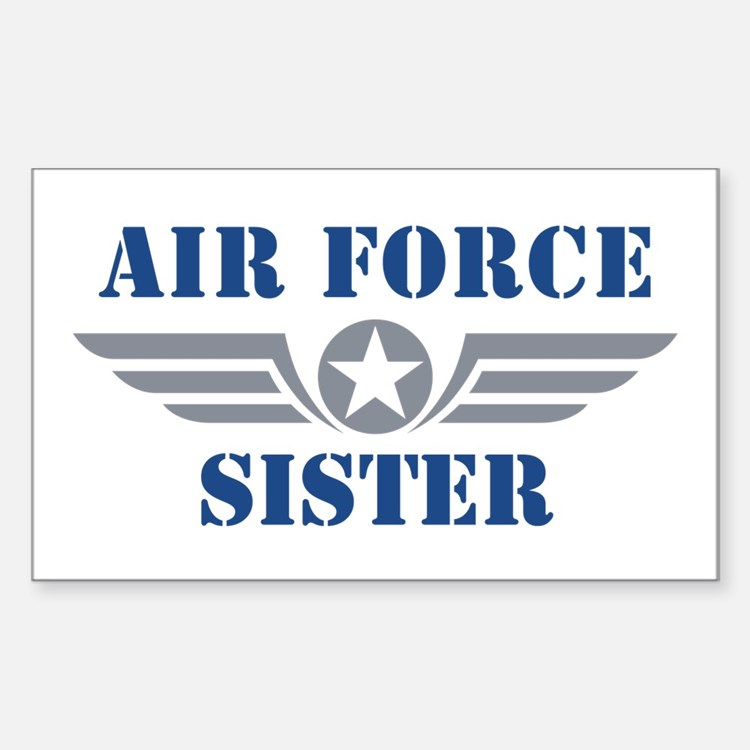Air Force Sister Decal