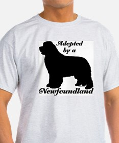 ADOPTED by Newfoundland T-Shirt