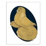 Yellow Trumpeter Small Poster