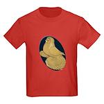 Yellow Trumpeter Kids Dark T-Shirt
