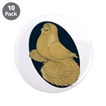 """Yellow Trumpeter 3.5"""" Button (10 pack)"""