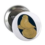 """Yellow Trumpeter 2.25"""" Button"""