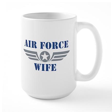 Air Force Wife Large Mug
