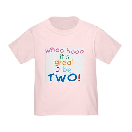 Whoo Hooo 2nd Birthday Toddler T-Shirt