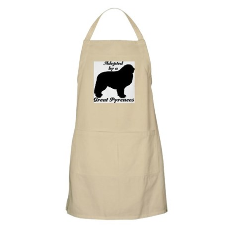 ADOPTED by Great Pyrenees BBQ Apron