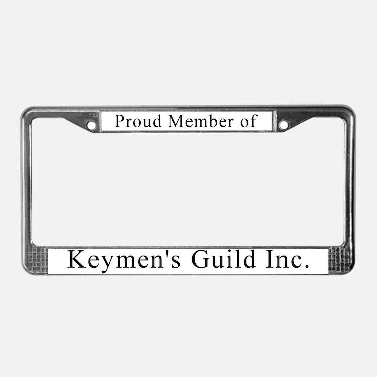 Cute Clubs organizations License Plate Frame