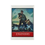 Army Corps of Engineers Rectangle Magnet (10 pack)