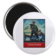 "Army Corps of Engineers 2.25"" Magnet (10 pack)"