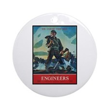 Army Corps of Engineers Ornament (Round)