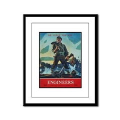 Army Corps of Engineers Framed Panel Print