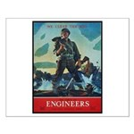 Army Corps of Engineers Small Poster