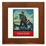 Army Corps of Engineers Framed Tile