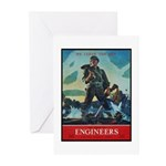 Army Corps of Engineers Greeting Cards (Package of