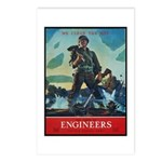 Army Corps of Engineers Postcards (Package of 8)