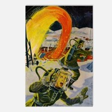 Atomic Earth Blaster Postcards (Package of 8)