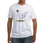 California White Hen Fitted T-Shirt