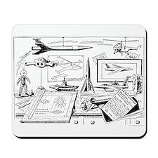 Tom Swift Junior Drawing Board Mousepad