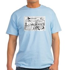 Tom Swift Junior Drawing Board T-Shirt