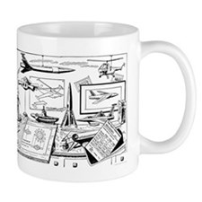 Tom Swift Drawing Board Mug