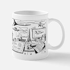 Tom Swift Drawing Board Mug