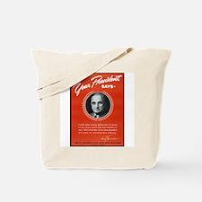 Vintage President Harry Truman Tote Bag