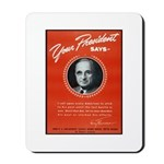 Vintage President Harry Truman Mousepad