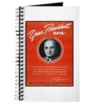 Vintage President Harry Truman Journal