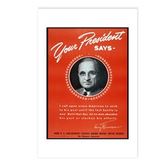 Vintage President Harry Truman Postcards (Package