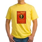 Vintage President Harry Truman Yellow T-Shirt