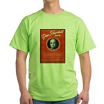 Vintage President Harry Truman Green T-Shirt