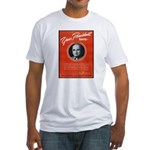 Vintage President Harry Truman Fitted T-Shirt
