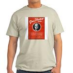 Vintage President Harry Truman (Front) Ash Grey T-