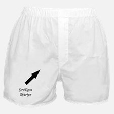 """Problems for Men"" boxers"