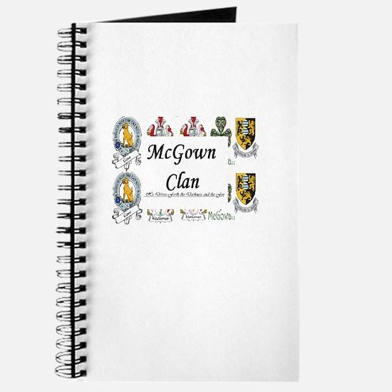 Cute Mcgowan Journal