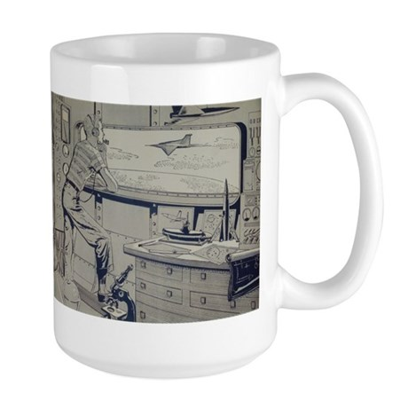 Tom Swift Lab Large Mug