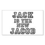 Jack is the New Jacob Sticker (Rectangle)
